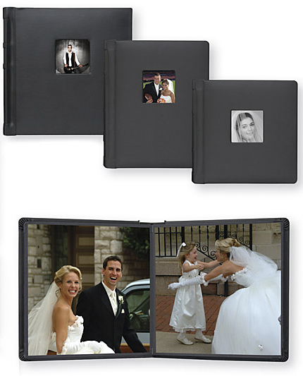 TAP Albums 8x10 Valencia Professional Wedding Photo Books Library Bound Simulated Leather